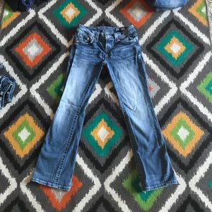 Miss Me Size 26 Easy Boot Blue Jeans